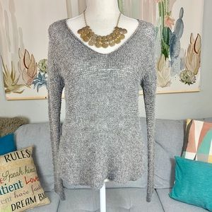 Eileen Fisher Knitted Scoop Neck Sweater